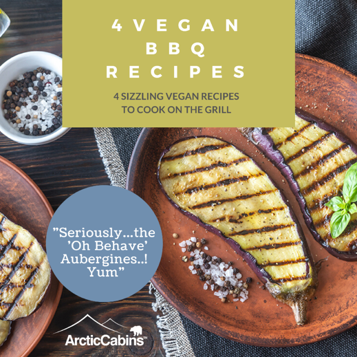 Arctic Cabins Vegan BBQ recipes