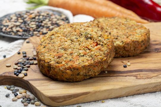 Arctic Cabins Vegan grill recipes Falafel Burger