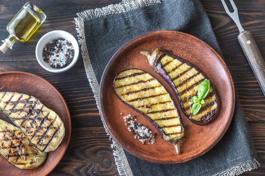Arctic Cabins Vegan grill recipes Oh Behave Aubergine